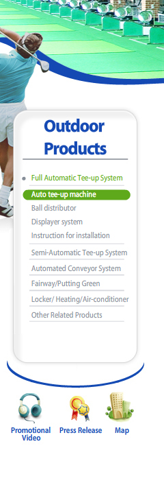 Outdoor Products Leftmenu-Full Automatic Tee-up System